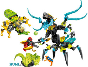 Lego Hero Factory 44029 - Królowa vs FURNO EVO i STORMER