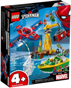 LEGO SpiderMan 76134 Doktor Octopus skok na diamenty