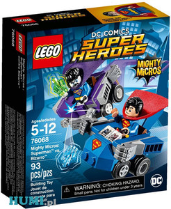 LEGO 76068 Superman kontra Bizzro