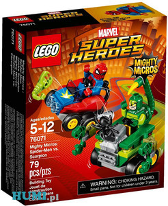 Klocki Lego 76071 Spiderman kontra Skorpion