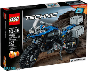 LEGO Technic 42063 Motor BMW R 1200 GS Adventure