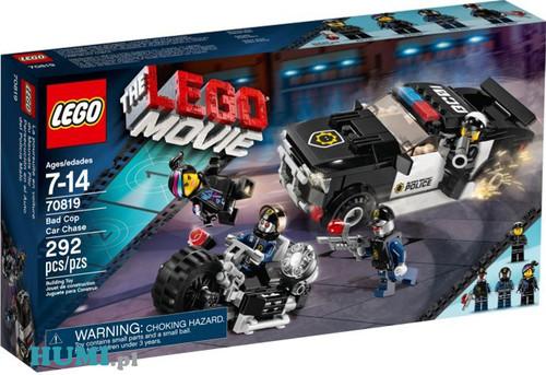 Klocki Lego Movie 70819 Pościg Za Złym Policjantem żyleta