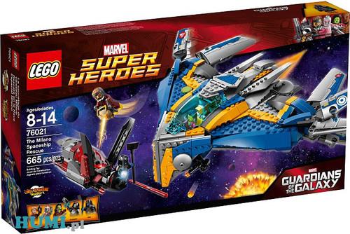 Klocki Lego Strażnicy Galaktyki 76021 Statek Milano Humipl