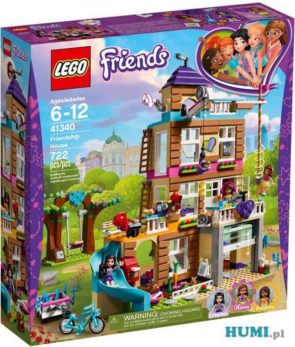 Klocki LEGO Friends 41340 Dom przyjaźni