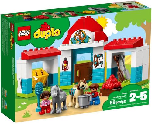 Lego Duplo 10868 Stajnia Z Kucykami Humipl