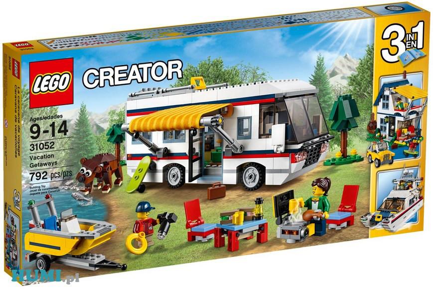 Klocki Lego 31052 Creator Wyjazd Na Wakacje 3w1 Humipl